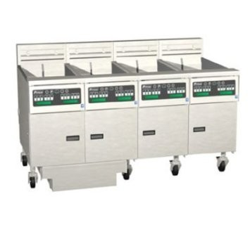 Pitco 4-SE18D Solstice Electric Fryer with Filter Drawer (4) 70 - 90 Lb.