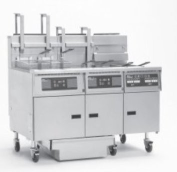 Pitco 5-SE14C Solstice Electric Fryer with Filter Drawer (5) 50 Lb.