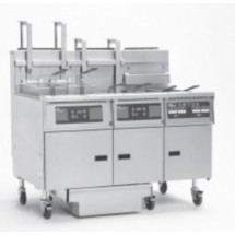 Pitco 5-SE14D Solstice Electric Fryer with Filter Drawer (5) 50 Lb.
