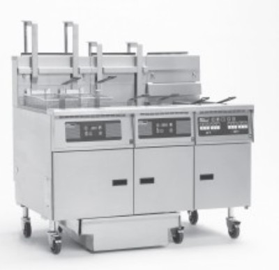Pitco 5-SE14RD Solstice Electric Fryer with Filter Drawer (5) 50 Lb.