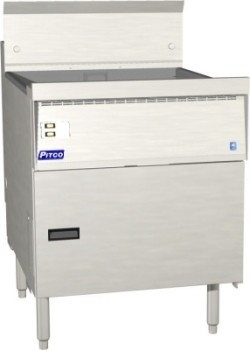 Pitco FBG24-D Flat Bottom Fryer with Digital Controls