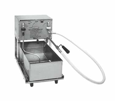 Pitco RP18 Low-Profile Mobile Fryer Filter 75 Lb. Capacity for Size 18 Fryers