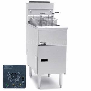 Pitco SE148R-SSTC Solstice Electric Fryer with Solid State Control 60 Lb.