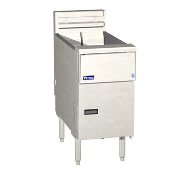Pitco SE14R Solstice Electric Fryer with Solid State Controls  40 - 50 Lb.