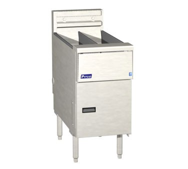 Pitco SE14T Solstice Electric Fryer with Solid State Control (2) 20 - 25 Lb.