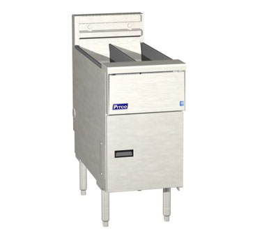 Pitco SE14T-SSTC Solstice Electric Fryer with Solid State Control (2) 20 - 25 Lb.