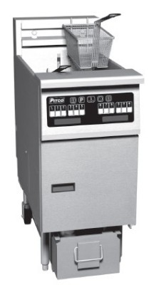 Pitco SE184R-C Solstice Electric Fryer with Computerized Cooking Control 60 Lb.