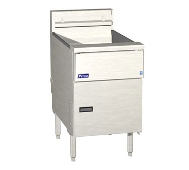 Pitco SE18R-SSTC Solstice Electric Fryer with Digital Controls 70 - 90 Lb.