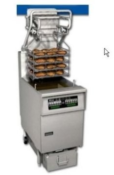 Pitco SFSG6H-D Solstice Gas Fryer 85 Lb. with EZ-Lift Rack System