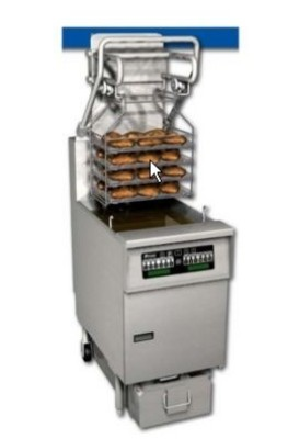 Pitco SG6H-C Solstice Gas Fryer 85 Lb. with EZ-Lift Rack System