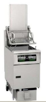 Pitco SG6H-PC Solstice Gas Fryer 85 Lb. with EZ-Lift Rack System