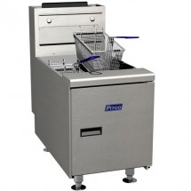 Pitco SGC-S Counter Top Solstice Gas Fryer 35 Lb. 75,000 BTU