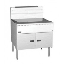Pitco SGM18X24-C Mega High Efficiency Gas Fryer with Intellifry Computer Control
