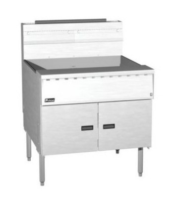 Pitco SGM24-C Mega High Efficiency Gas Fryer with Intellifry Computer Control