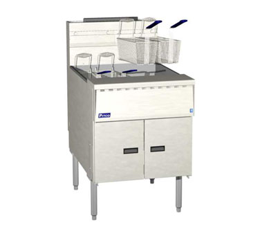 Pitco SGM24-SSTC Mega High Efficiency Gas Fryer with Solid State Control