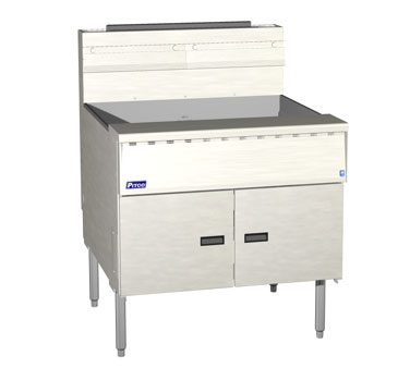 Pitco SGM34-SSTC Mega High Efficiency Gas Fryer with Solid State Control