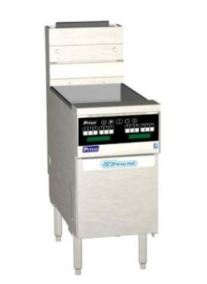Pitco SSH55R-D-S Solstice Supreme High Efficiency Gas Fryer 50 Lb. 100,000 BTU