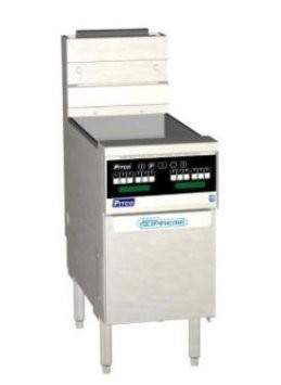Pitco SSH60-SSTC Solstice Supreme High Efficiency Gas Fryer 50 - 60 Lb. 80,000 BTU