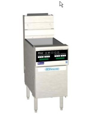 Pitco SSH75R-D-S Solstice Supreme High Efficiency Gas Fryer 75 Lb. 125,000 BTU