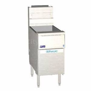 Pitco SSH75R-SSTC-S Solstice Supreme High Efficiency Gas Fryer 75 Lb. 125,000 BTU
