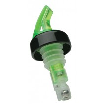 Precision Pours 100 SG C 1 Oz. Green Pourer with Collar - 1 doz