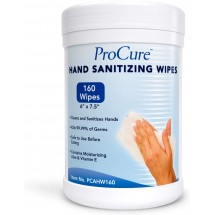 ProCure Hand Sanitizing Wipes Canister, 160 Wipes
