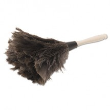 """Professional Ostrich Feather Duster, 4"""" Handle"""