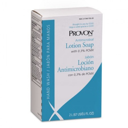 Antimicrobial Lotion Soap with Chloroxylenol, NXT 2 L Refill, 4/Carton