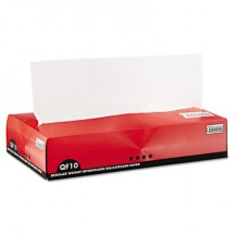 QF10 Interfolded Dry Wax Paper, 10 x 10 1/4, White, 6000/Carton