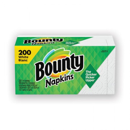 Quilted Napkins, 1-Ply, 12 1/10 x 12, White, 200/Pack, 8 Pack/Carton
