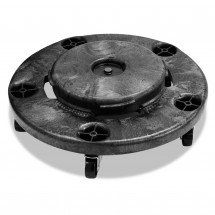 """Refuse Container Utility Dolly, 300-lb Capacity, 22"""" dia."""