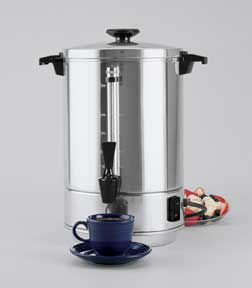 Regal Ware 58055R 55 Cup Aluminum Coffee Urn