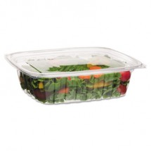 Eco-Products Renewable and Compostable Rectangular Deli Containers, 48  oz., 200/Carton