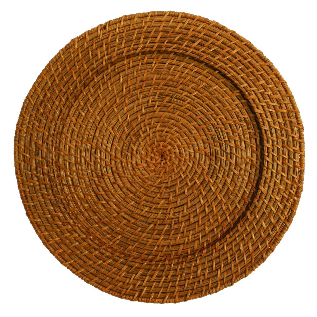 Round Rattan Charger Plate 13""