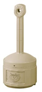 Royal ASH 26800B Beige Cigarette Butt Receptacle