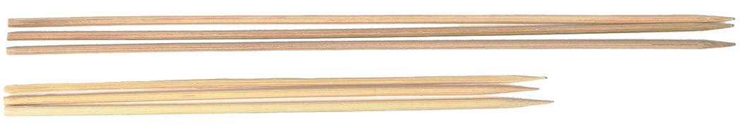 Royal BAM 6 Disposable Bamboo Skewers 6""