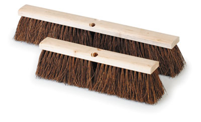 Royal BR GARAGE 16 Palmyra Bristle Garage Broom 16""