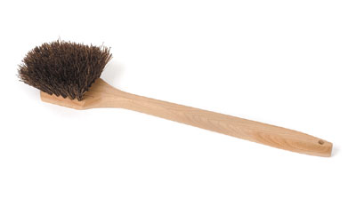 Royal BR POT L Palmyra Bristles Pot Brush with Wood Handle 20""