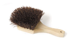 Royal BR POT S Palmyra Bristles Pot Brush with Wood Handle 8""