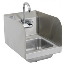 Royal Industries ROY HS 12 SP Stainless Steel Wall Mounted Hand Sink with Splash Guard 12""