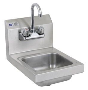 Royal Industries Roy Hs 12 Stainless Steel Wall Mounted Hand Sink 12