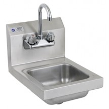Royal Industries ROY HS 12 Stainless Steel Wall Mounted Hand Sink 12""