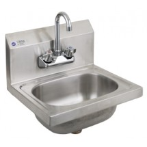 Royal Industries ROY HS 15 Stainless Steel Wall Mounted Hand Sink 15""