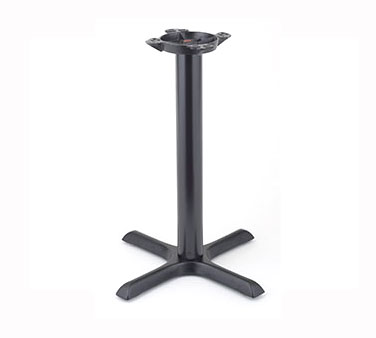 "Royal Industries ROY RTB 3030 Powder Coated Cast Iron Table Base 30"" x 30"""