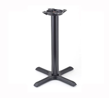 """Royal Industries ROY RTB 3333 Powder Coated Cast Iron Table Base 33"""" x 33"""""""