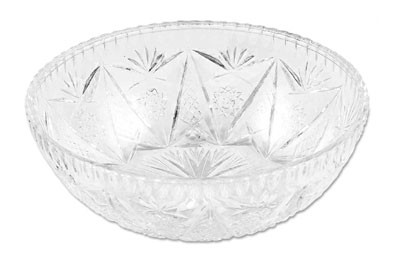 Royal NC 450 CLR Crystalware Salad Dish 6""