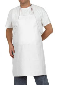 Royal RBA 400 100% Cotton White Bib Apron