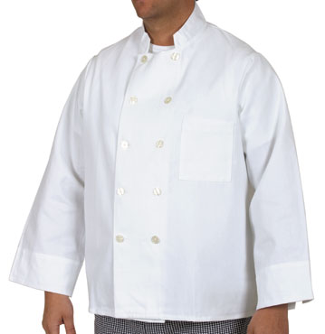 Royal RCC 303 S Permanent Press Twill Chef Coat