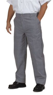 Royal RCP 250 32 Checkered Kitchen Pants, Size 32
