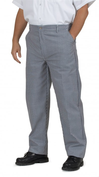 Royal RCP 250 36 Checkered Kitchen Pants, Size 36